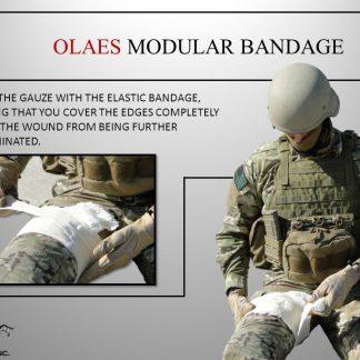 Taktický materiál - škrtidla, obväzy, nosidlá