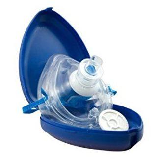 Rúška resuscitačné a vreckové dýchacie masky (pocket mask)